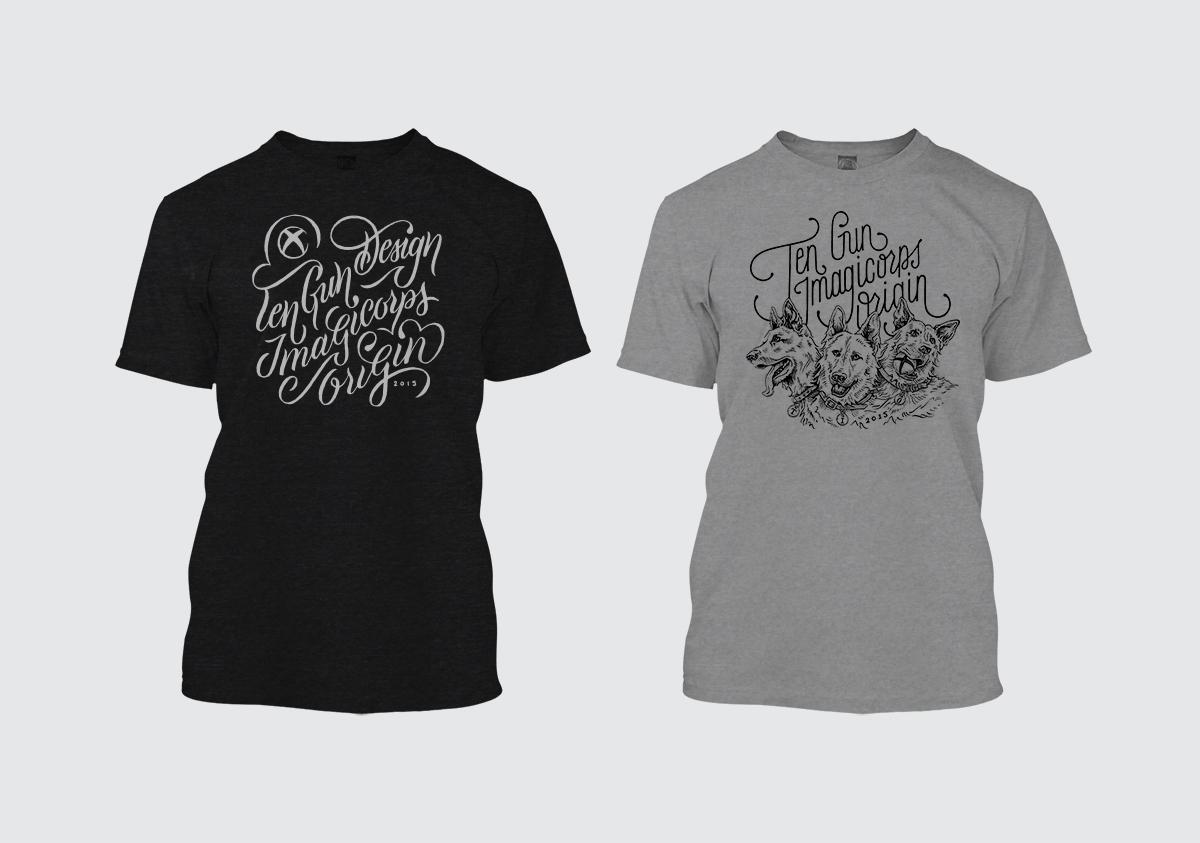 Alternate E3 2015 shirt concepts