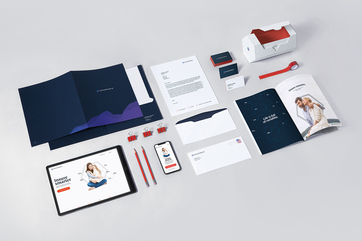 Full brand and collateral concept overview; provided photo styling, art direction, and partial photo retouch