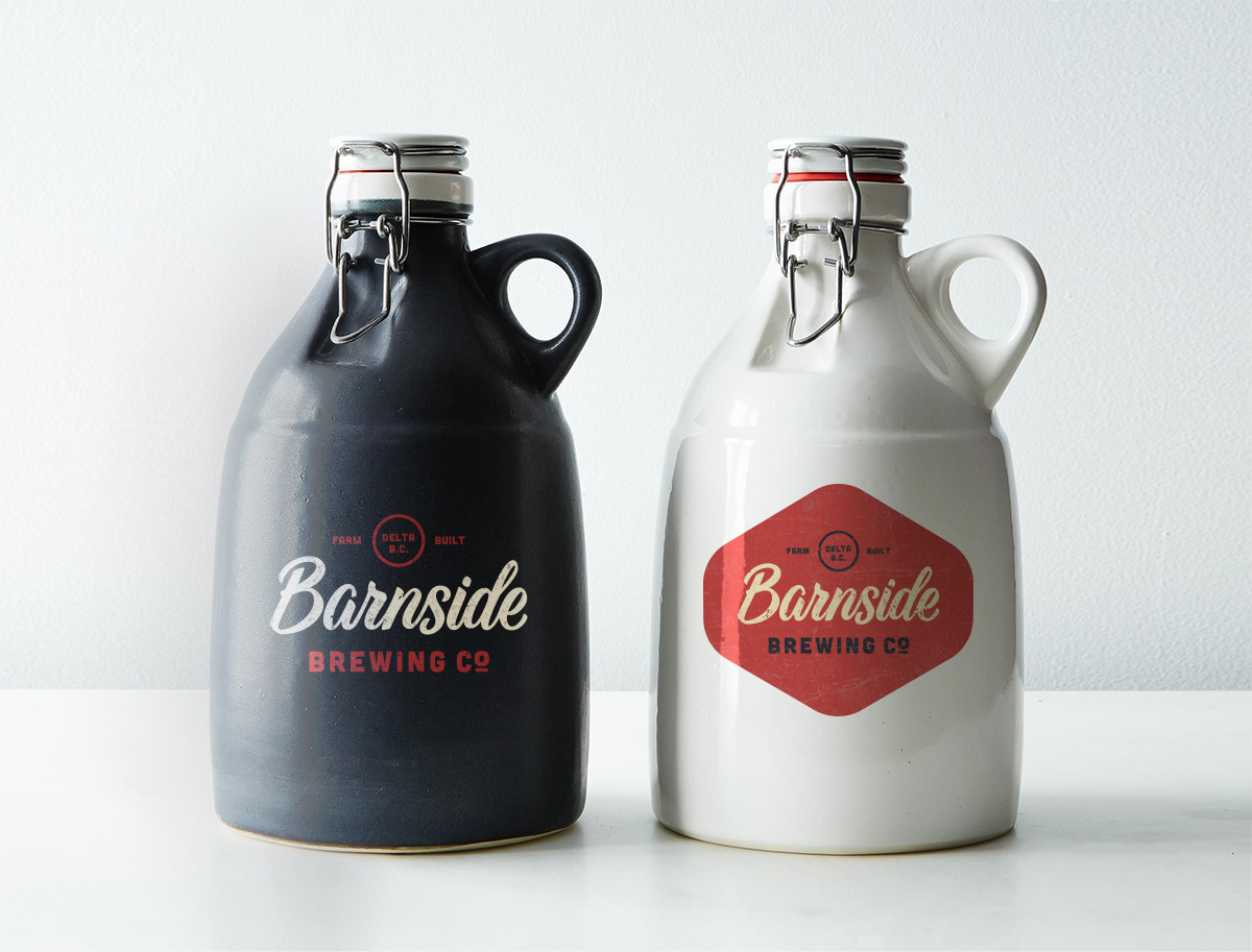 Vintage milk jug-inspired beer growler concept