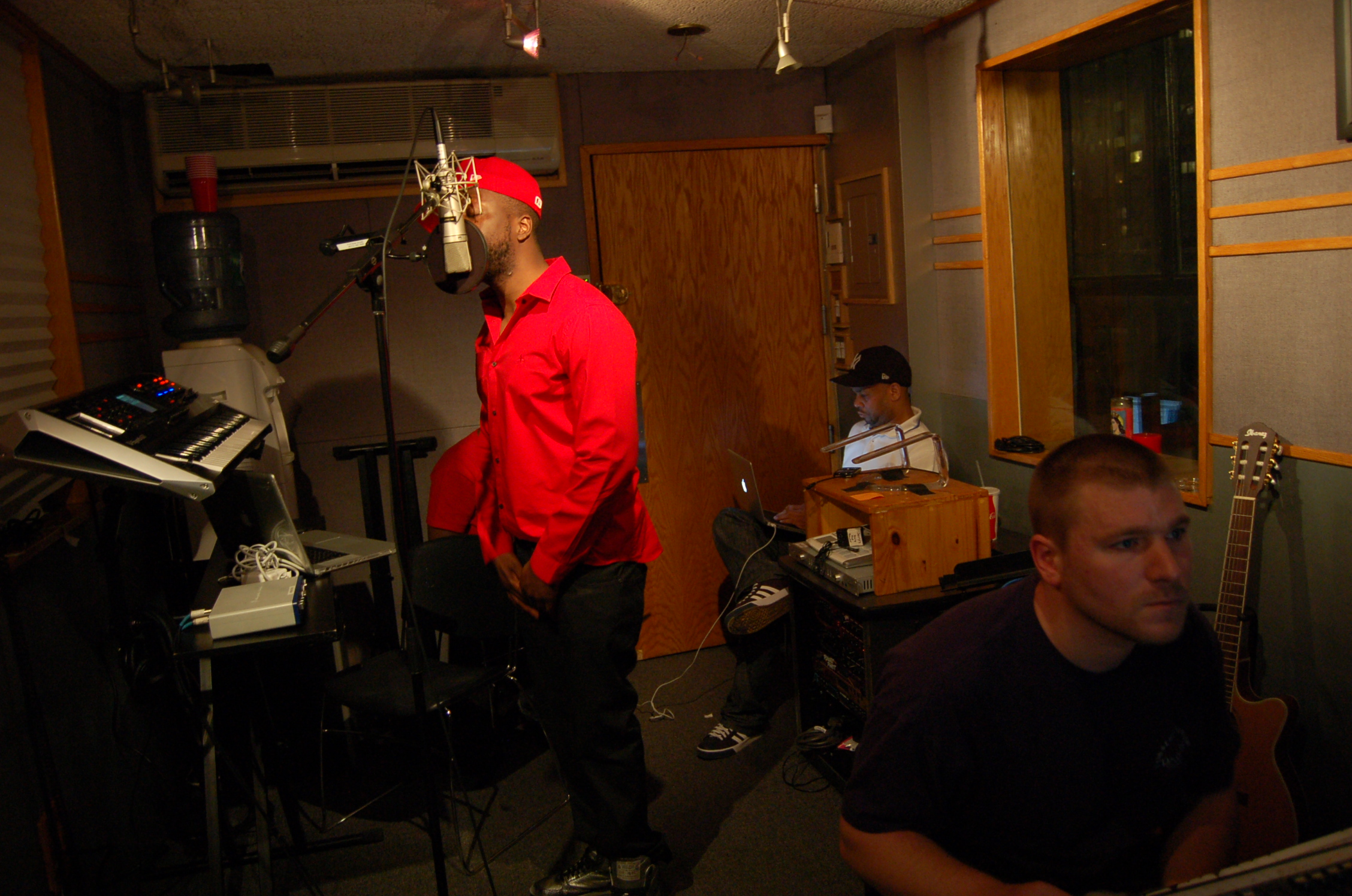 Vocals in the Penthouse with Wyclef