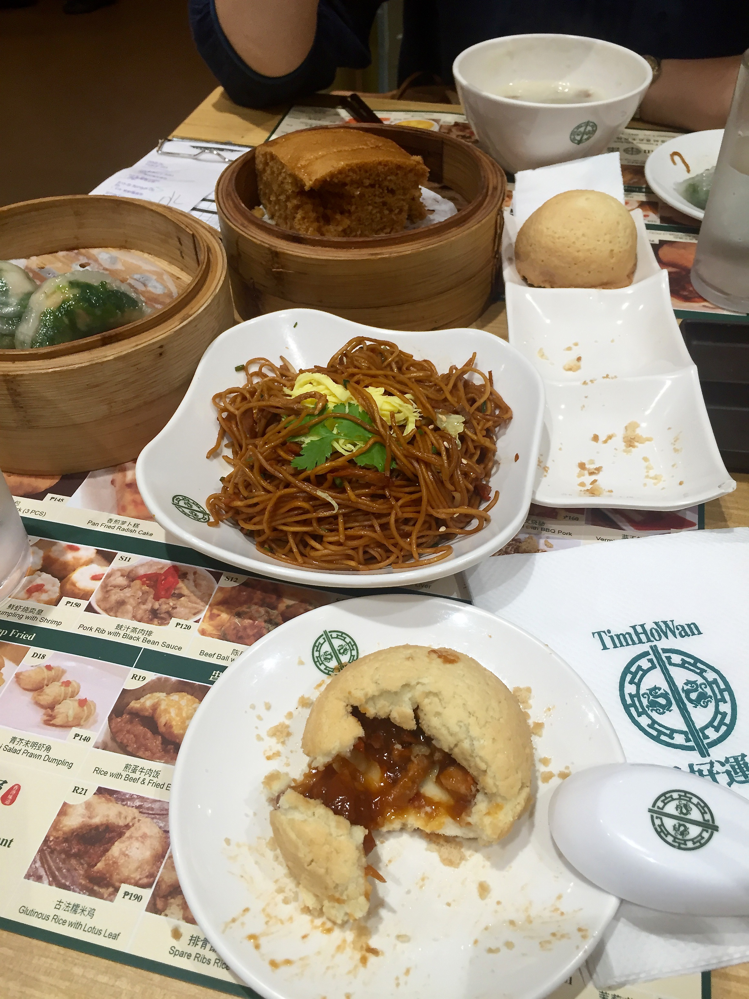 Lunch at Tim Ho Wan