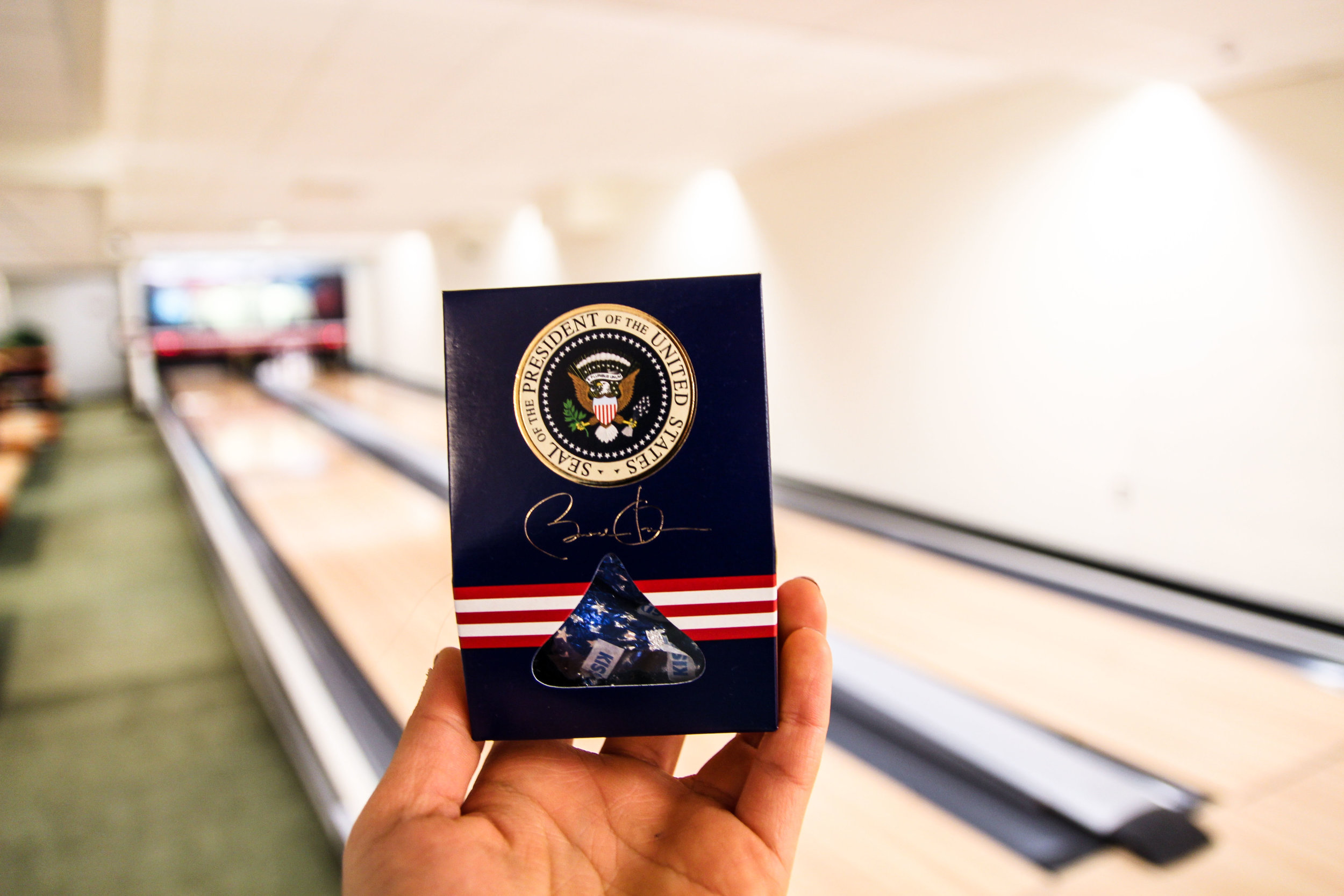 Chocolates from Mr. President