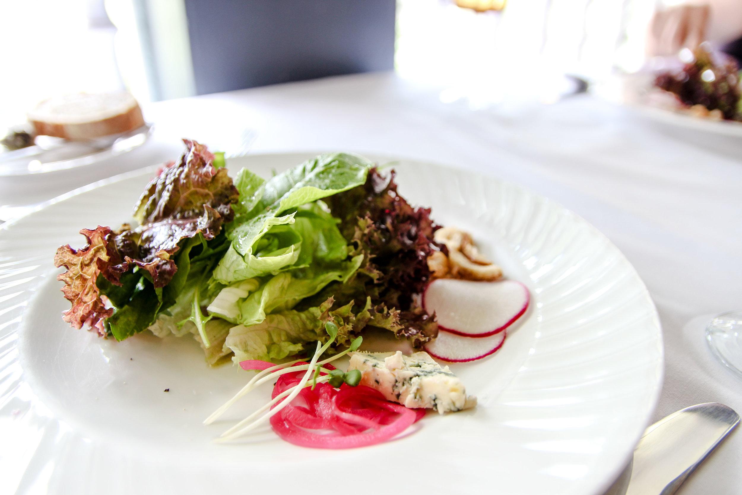 Organic Greens Salad