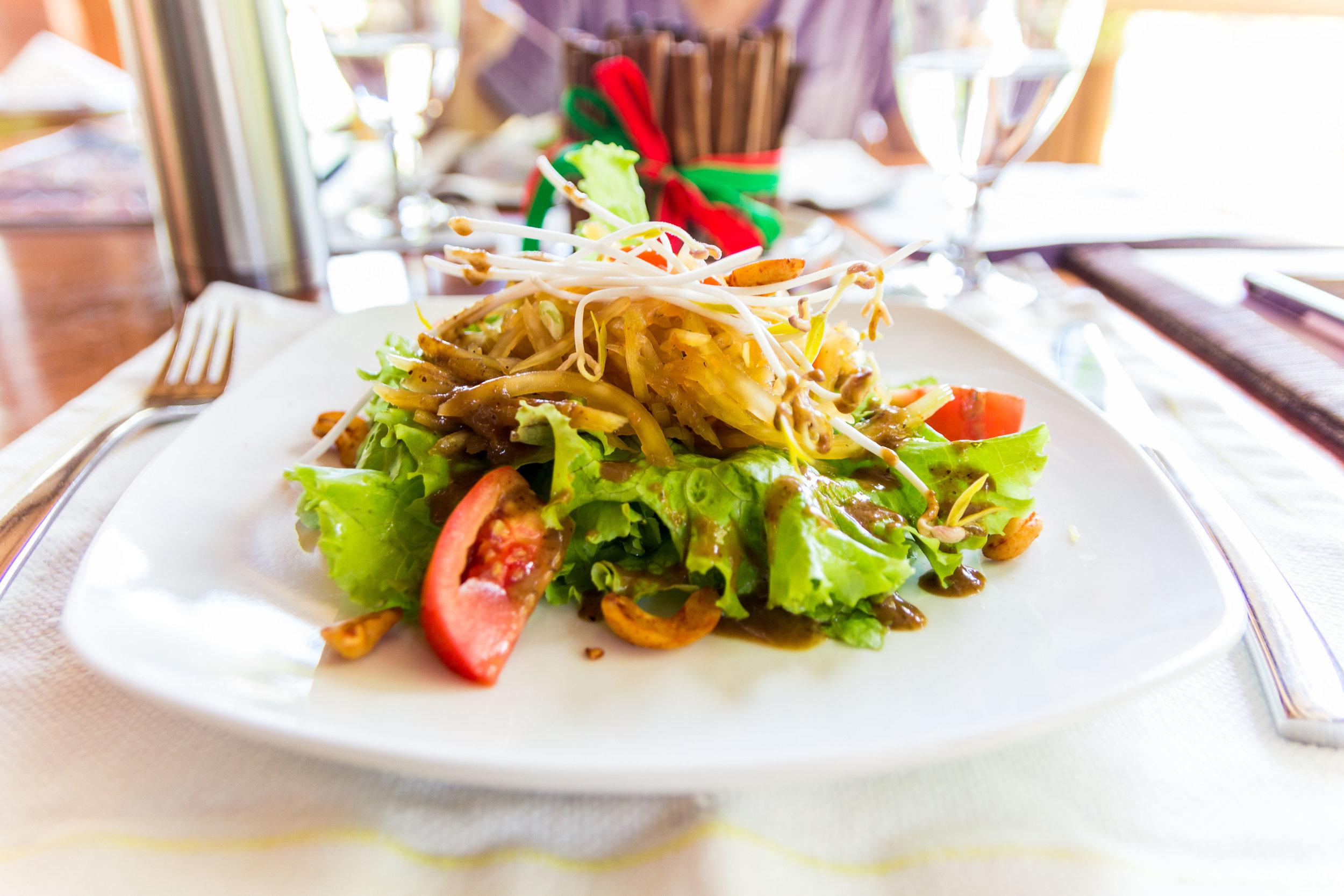 """""""Som Tam"""" Green Papaya Salad"""