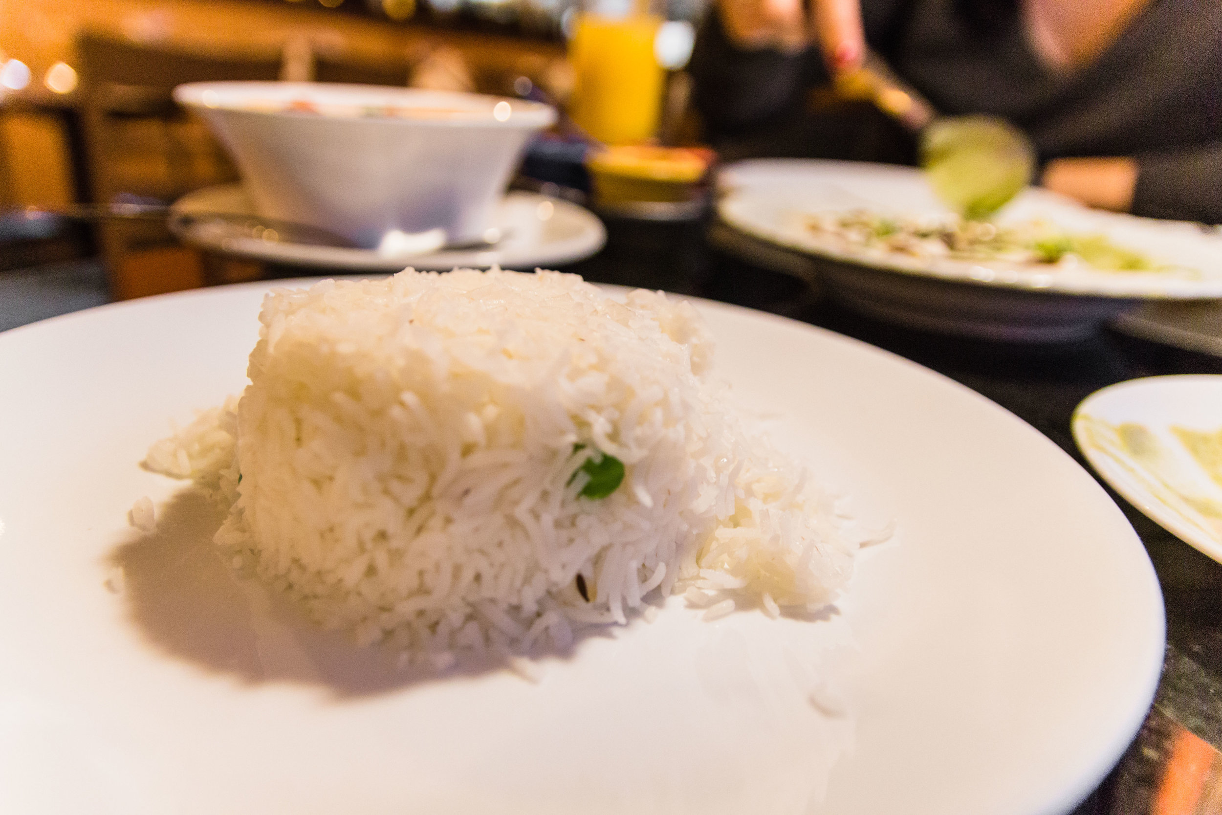 Rice on the side