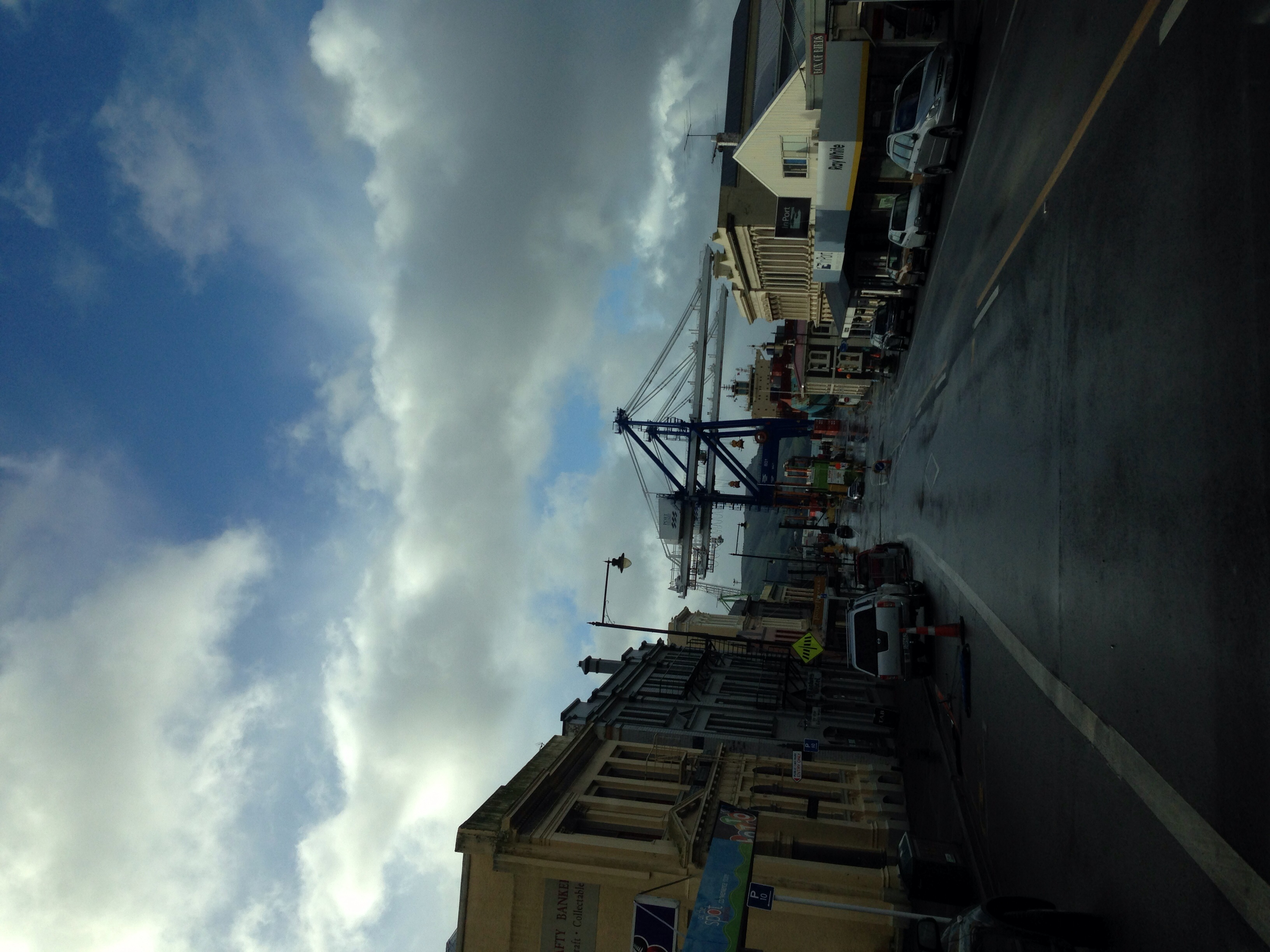Port Chalmers.