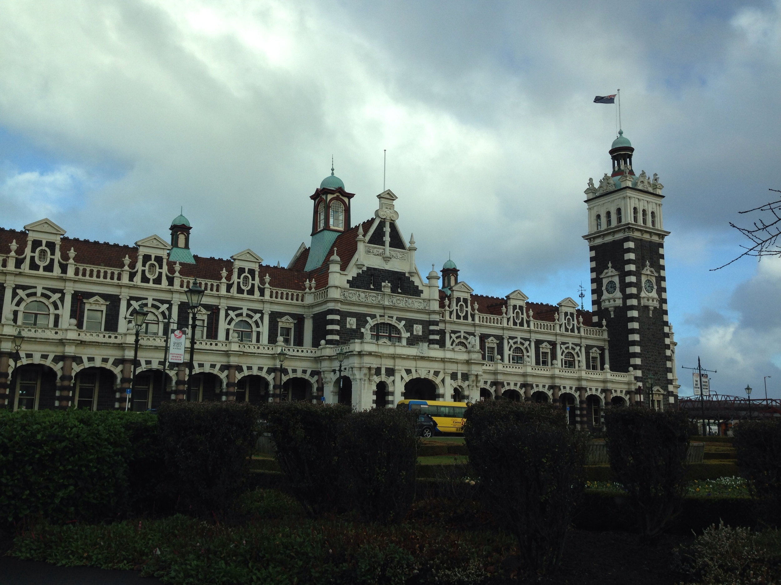 Dunedin Railway Station.