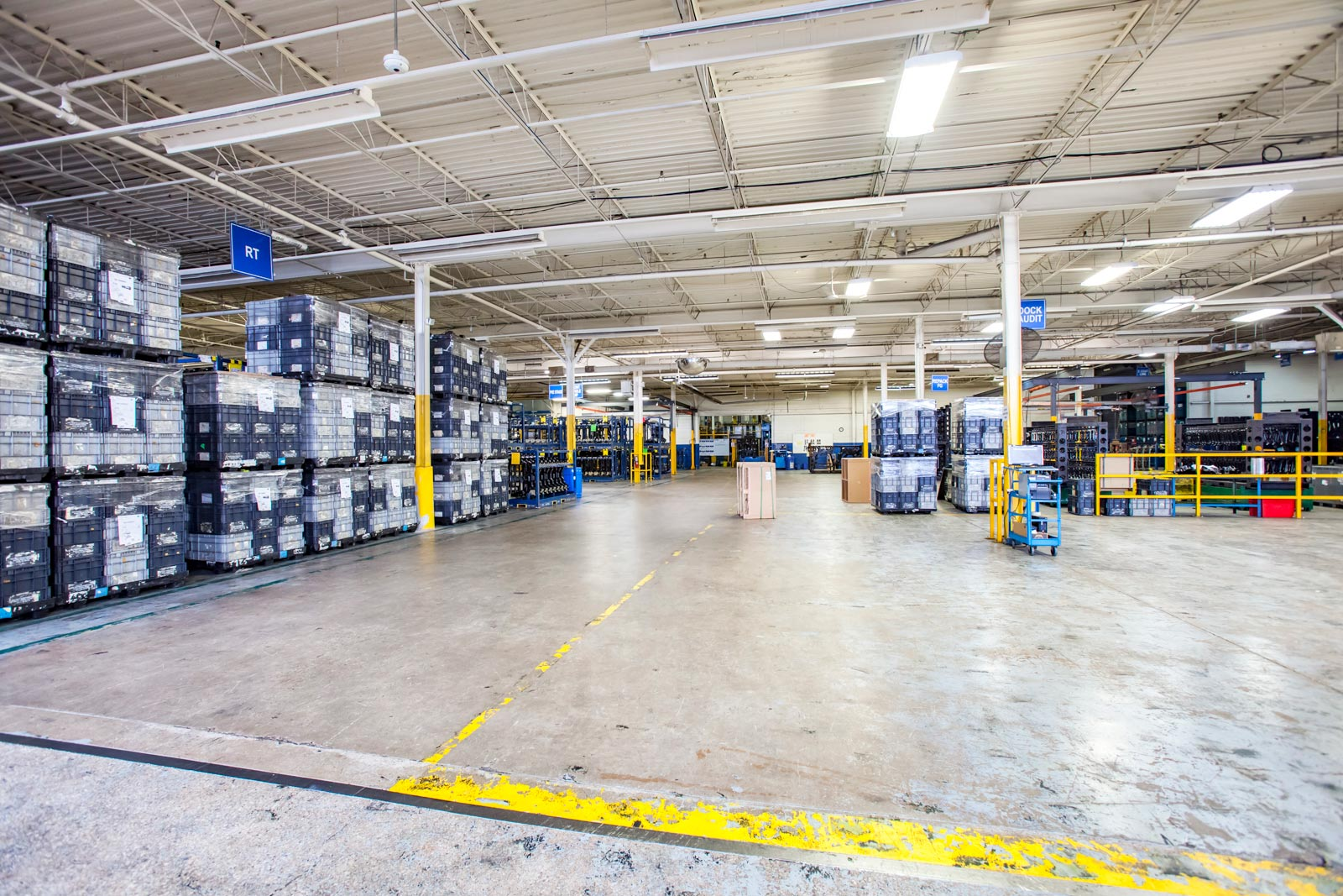 Bright Warehouse Photos