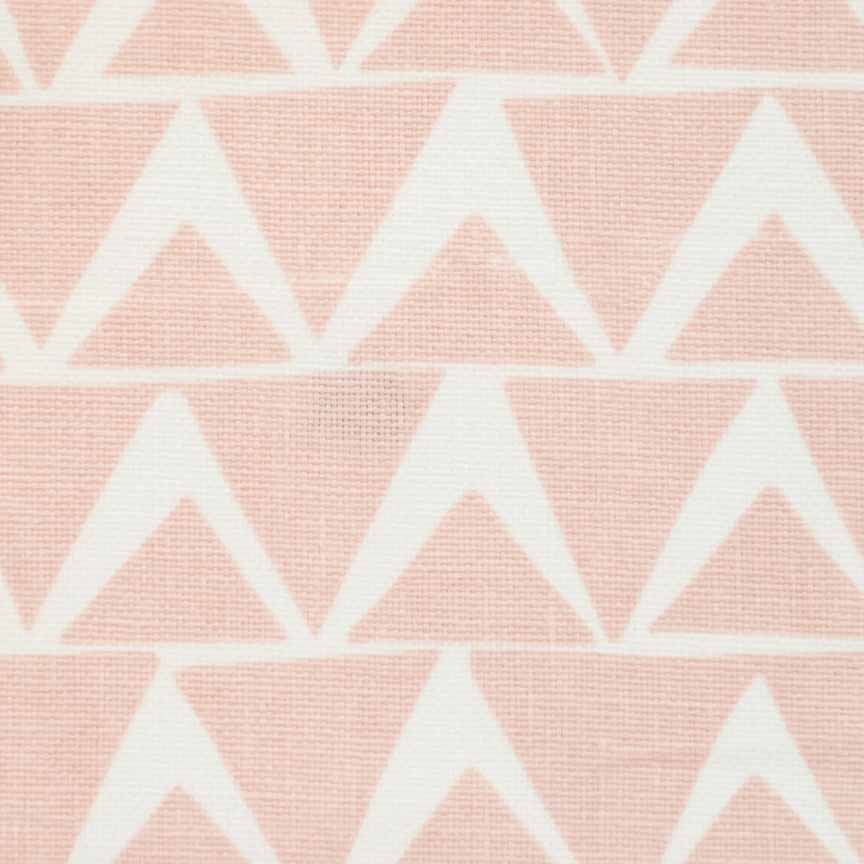 Triangles in Camellia Pink