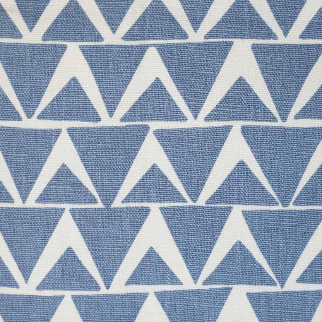 Triangles in Cornflower Blue