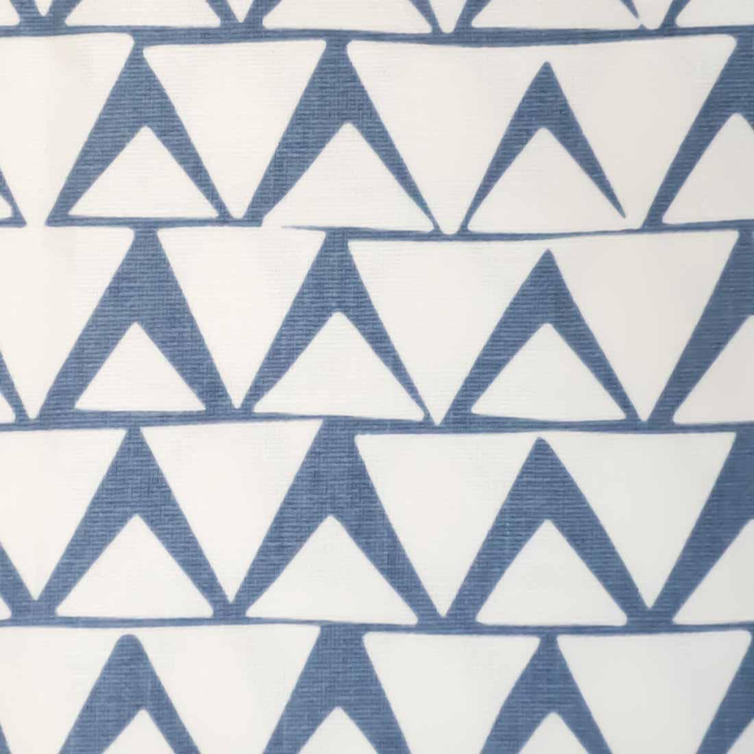 Triangles Inverse in Cornflower Blue