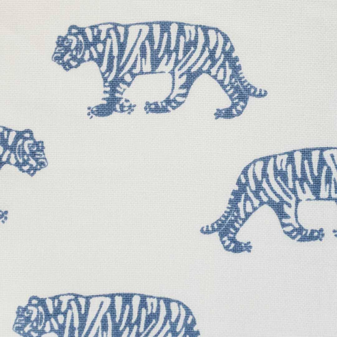 Tigers in Cornflower Blue