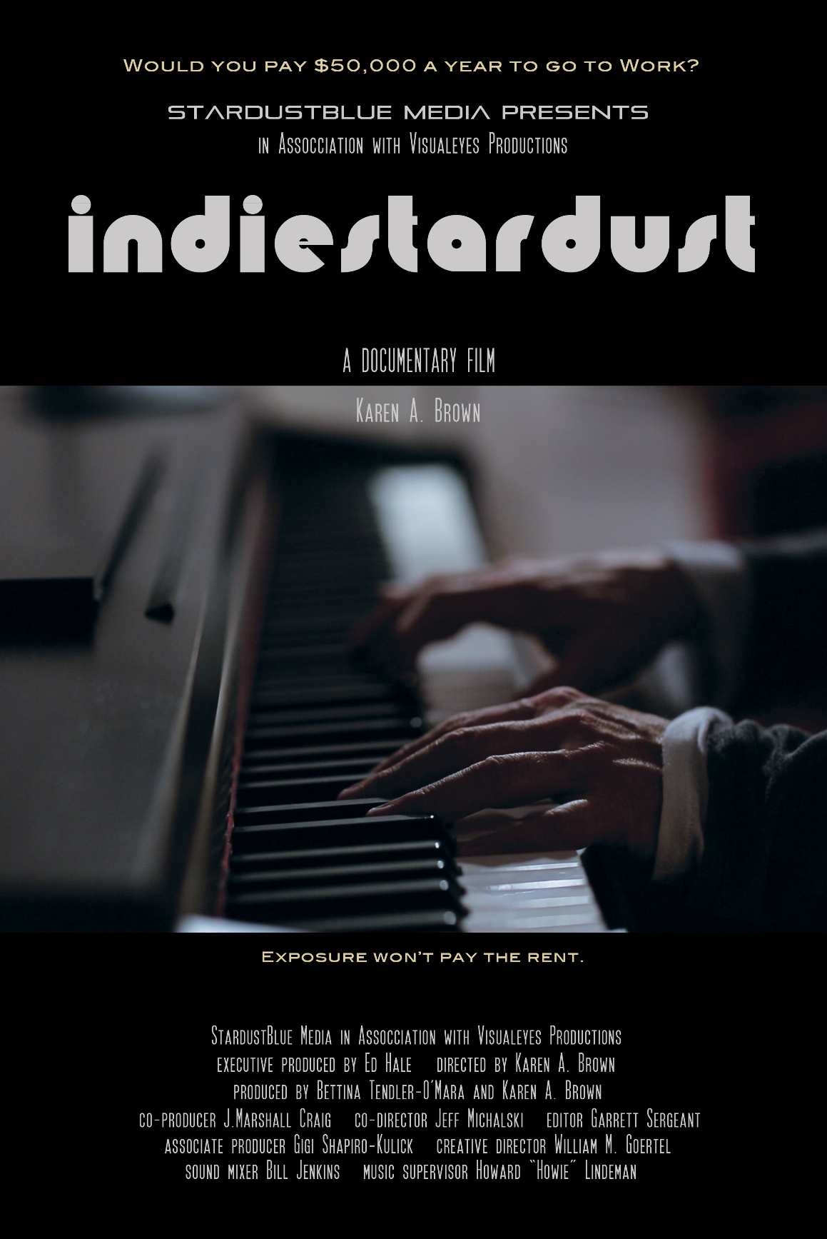 """""""IndieStardust"""" Official Poster"""