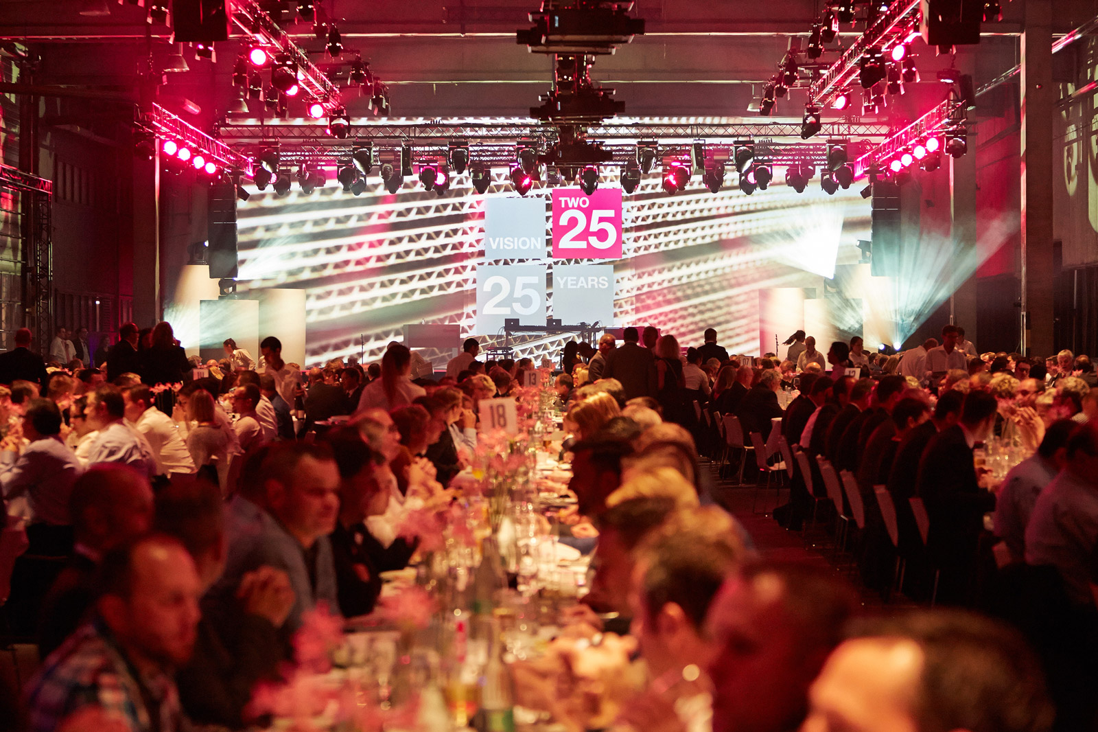 Für das Jubiläum der Progroup AG  wurde die erste Produktionsstätte des Unternehmens in Offenbach/Queich zur Eventlocation.