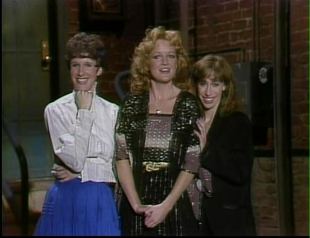 Mary Gross, Christine Ebersole and Robin Duke