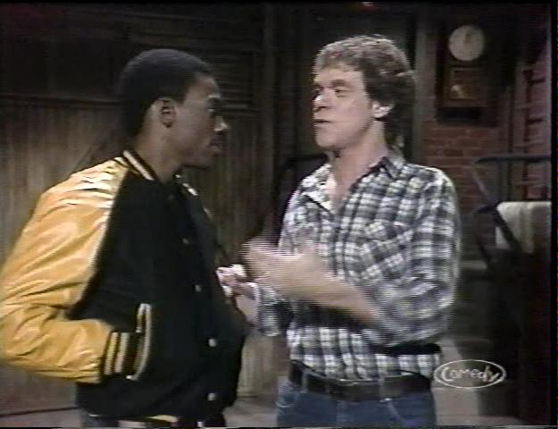 Eddie Murphy and Joe Piscopo