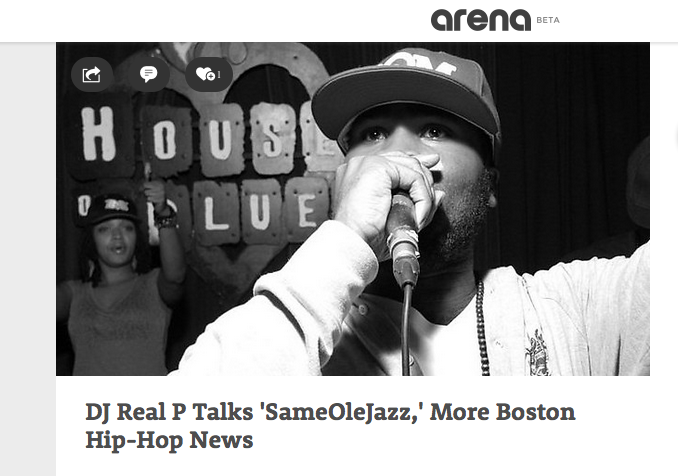 DJ Real P Talks 'SameOleJazz'
