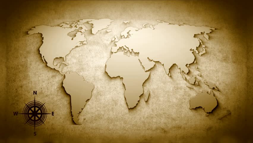 """THIS IS A MAP OF WHERE ALL WE ARE WILLING TO GO…""""ALL THE WORLD TO PREACH THE GOSPEL!"""""""