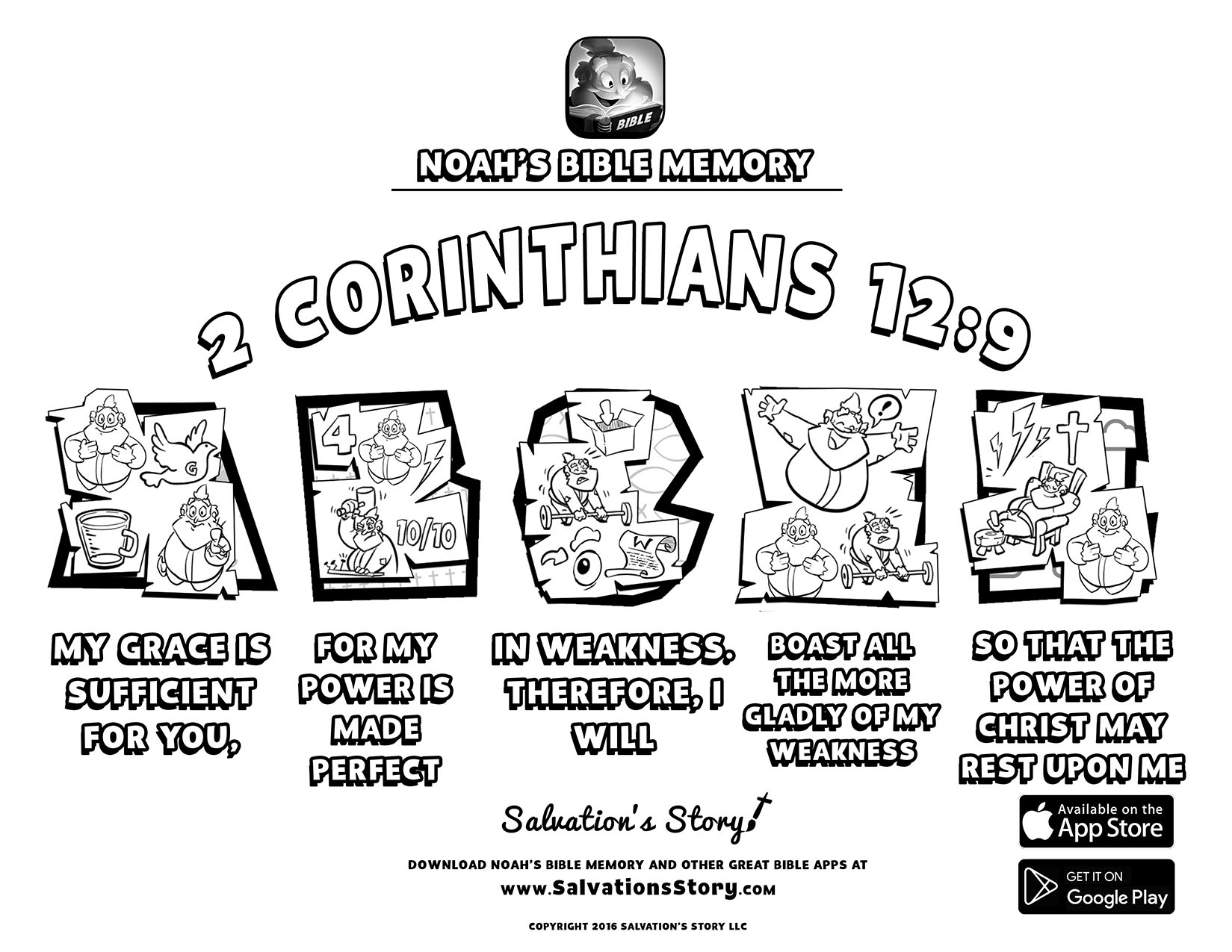 Salvations Story - Bible Memory  2 Corinthians 12-9.jpg
