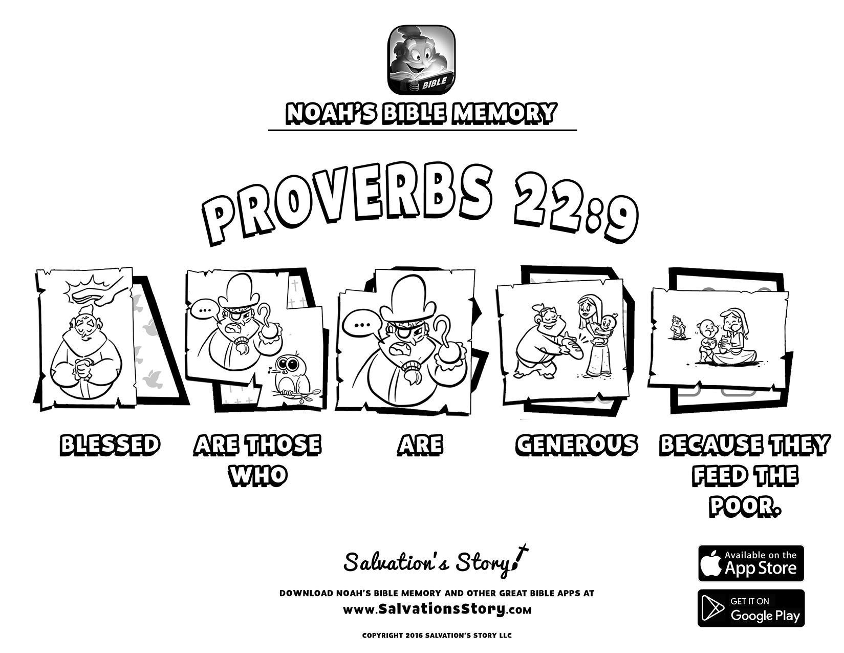 Salvations Story - Bible Memory  Proverbs 22-9.jpg