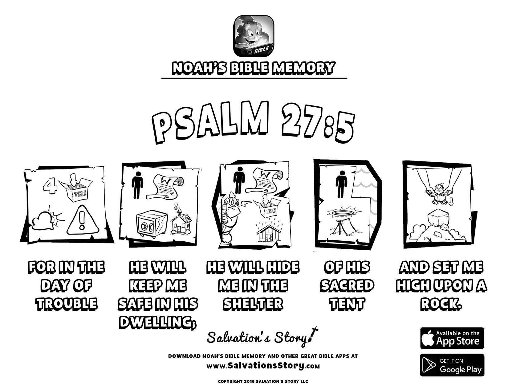 Salvations Story - Bible Memory  Psalm 27-5.jpg