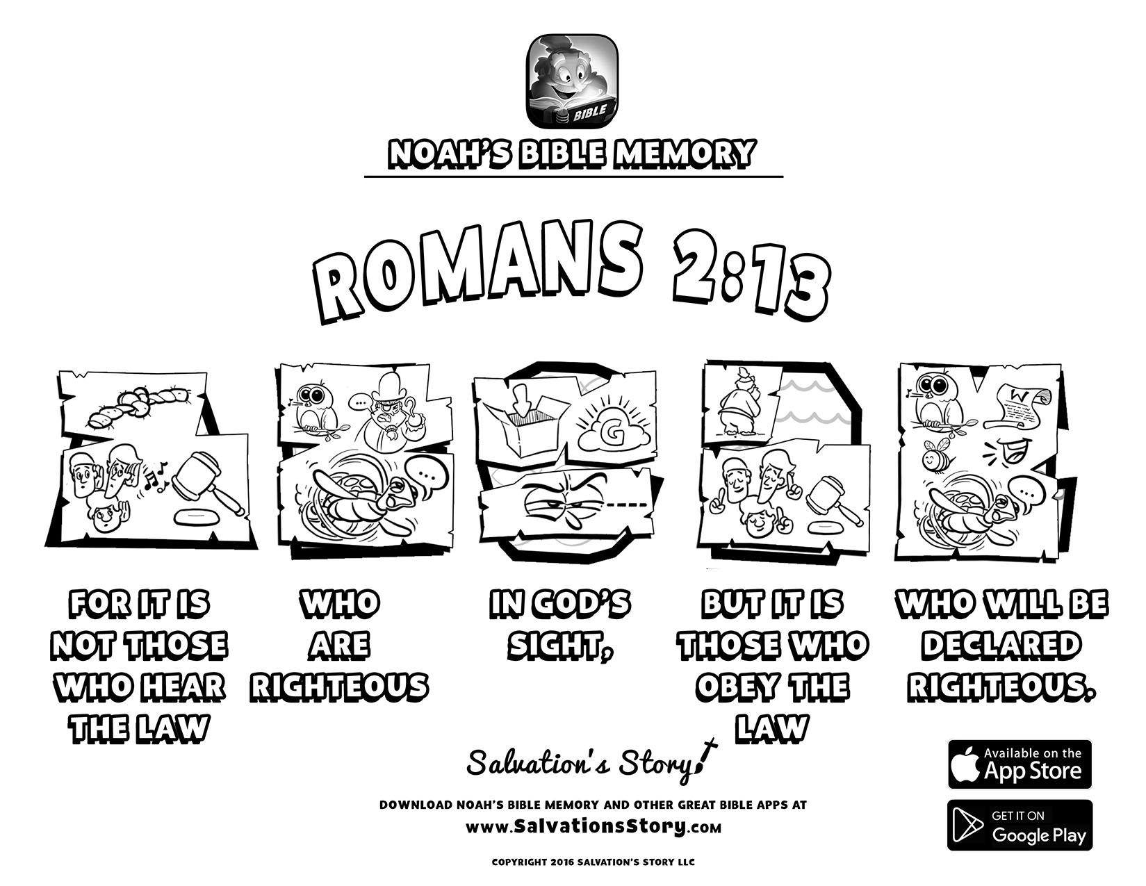 Salvations Story - Bible Memory  Romans 2-13.jpg