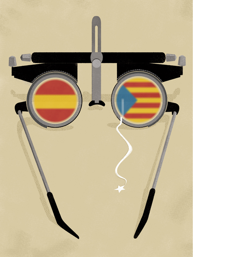 Constitutional myopia in Catalan question