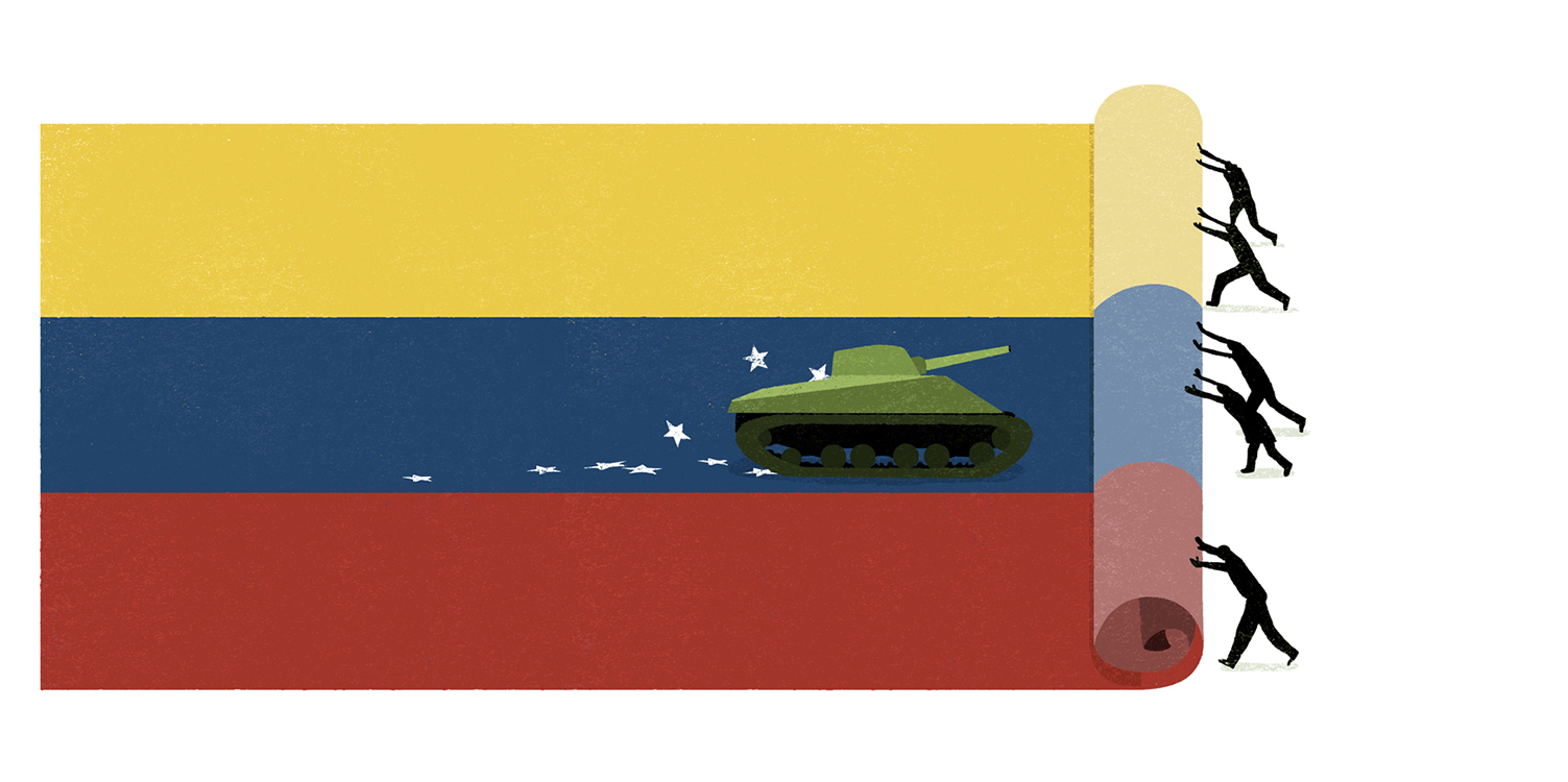 New York Times - Stop totalitarianism in Venezuela