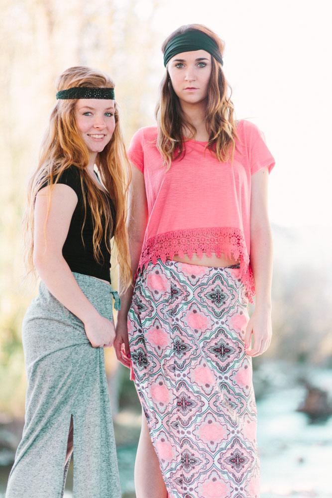 Senior Photos Portland Oregon Boho Fashion