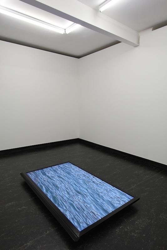 Nick Garner  Ferry Piece , 2012 Video, 12min 17sec Installation view at Firstdraft, Sydney