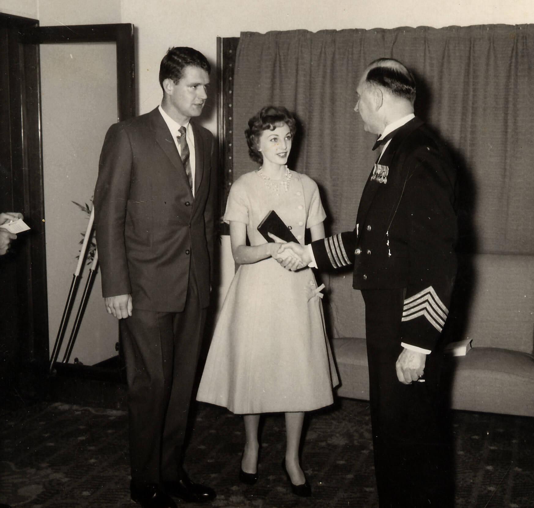 Honeymoon on way to Fiji on the ORCADES June 1959.jpg