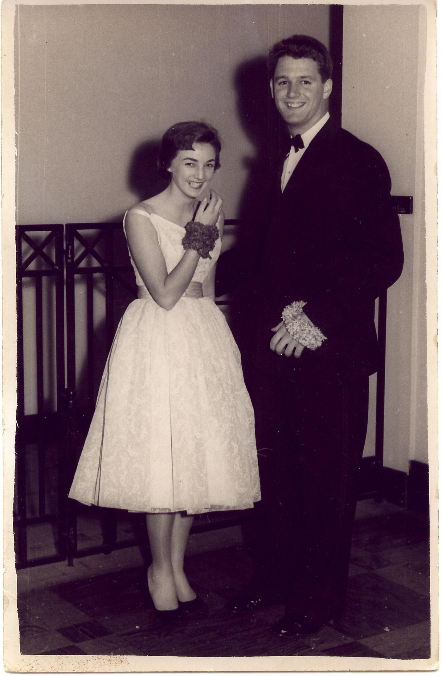 M & D at Xavier Ball late 1954.jpg