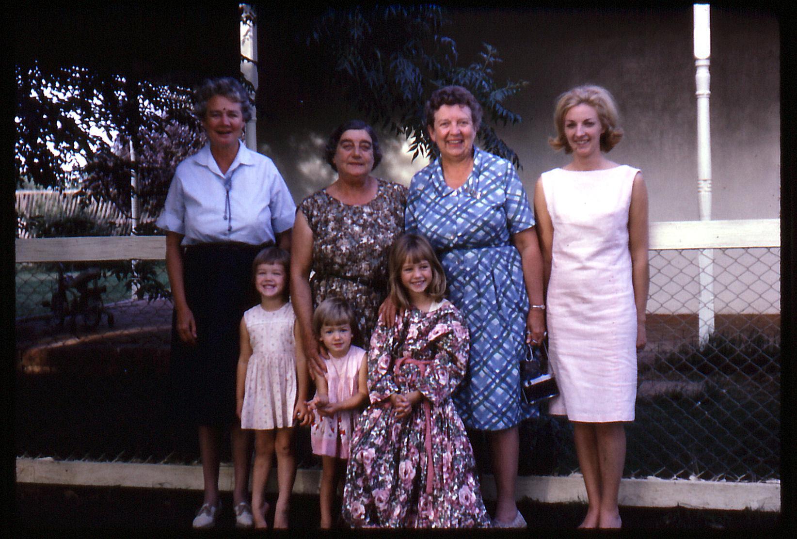 Mama, Ruth & Ruby & family at the farm.jpg