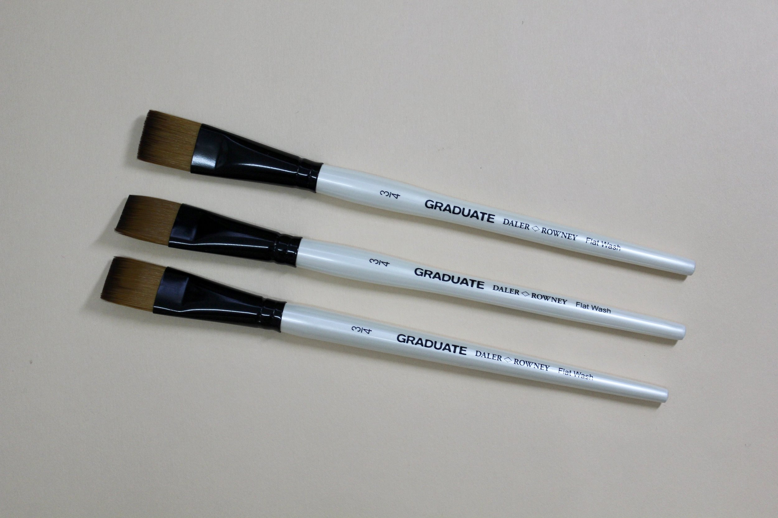"[Take 50% off] Daler & Rowney Graduate 3/4"" Flat Brush / $7"