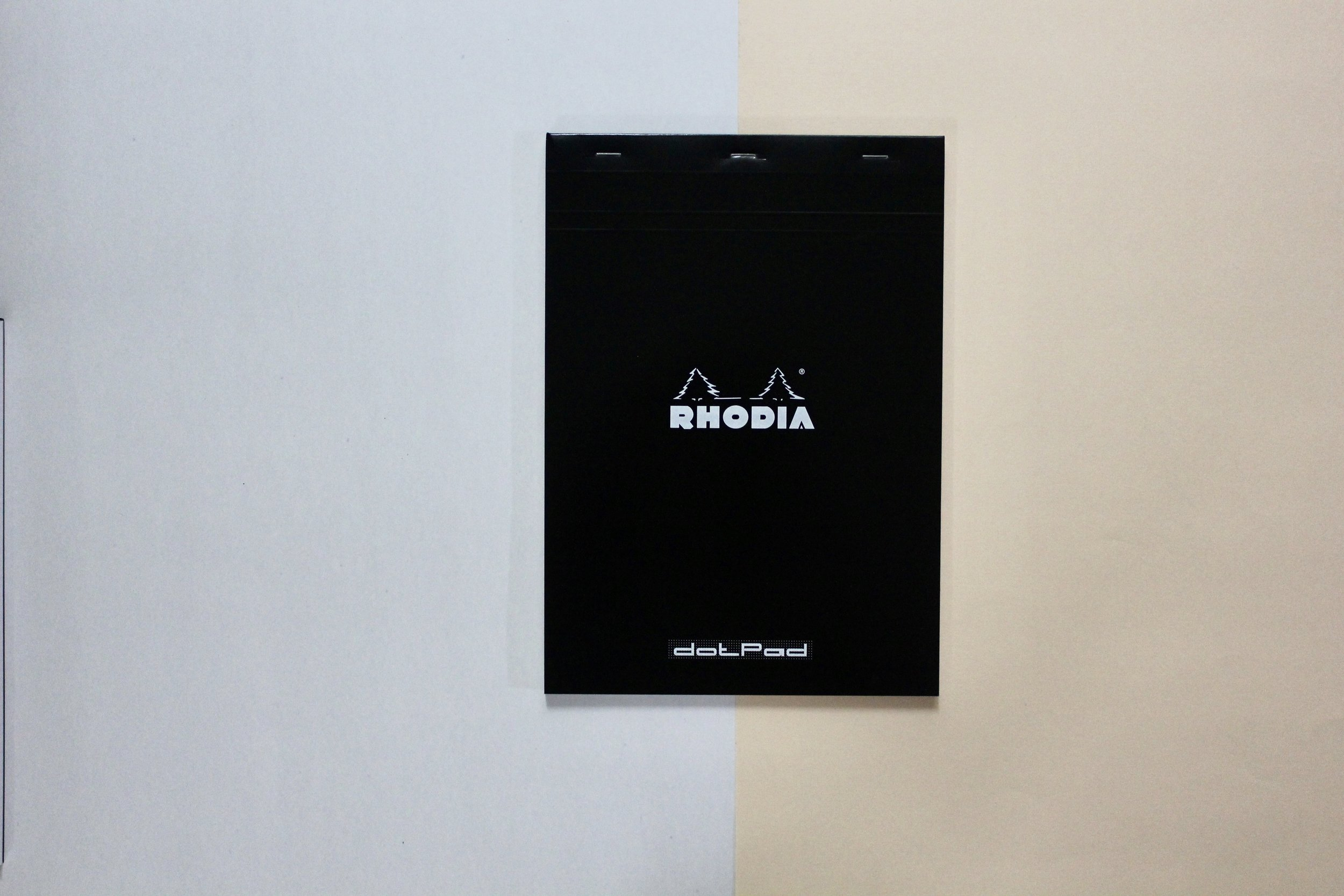 Rhodia Basics / A4 Dot Pad ★ 80 sheets ($10)