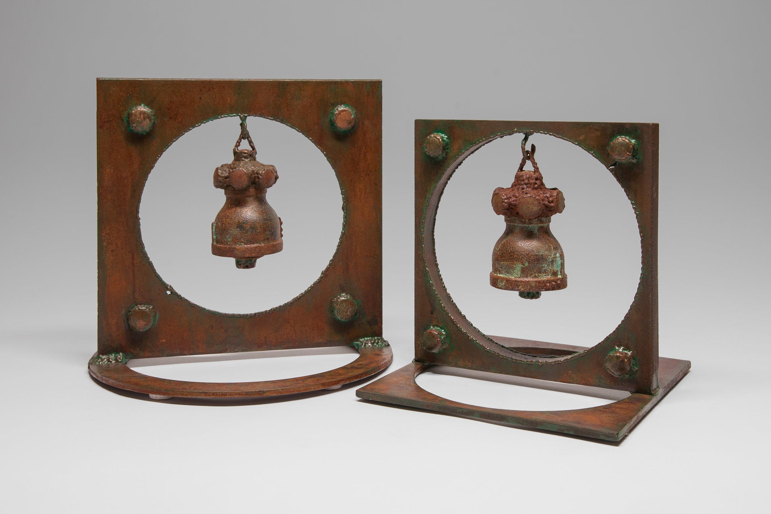 inner wisdom   bells, approx 12″ x 13″ x 13″