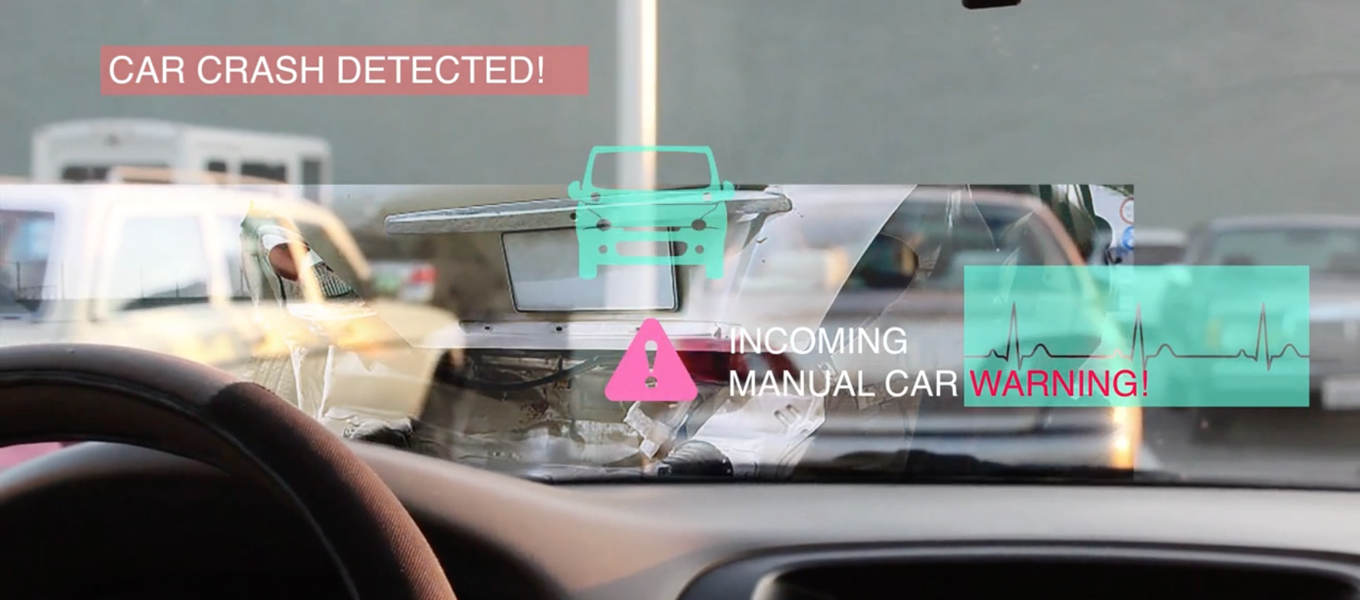 Still from Media Design Practices students Elaine Cheung's and Shan Shen's  Connected Mobility .