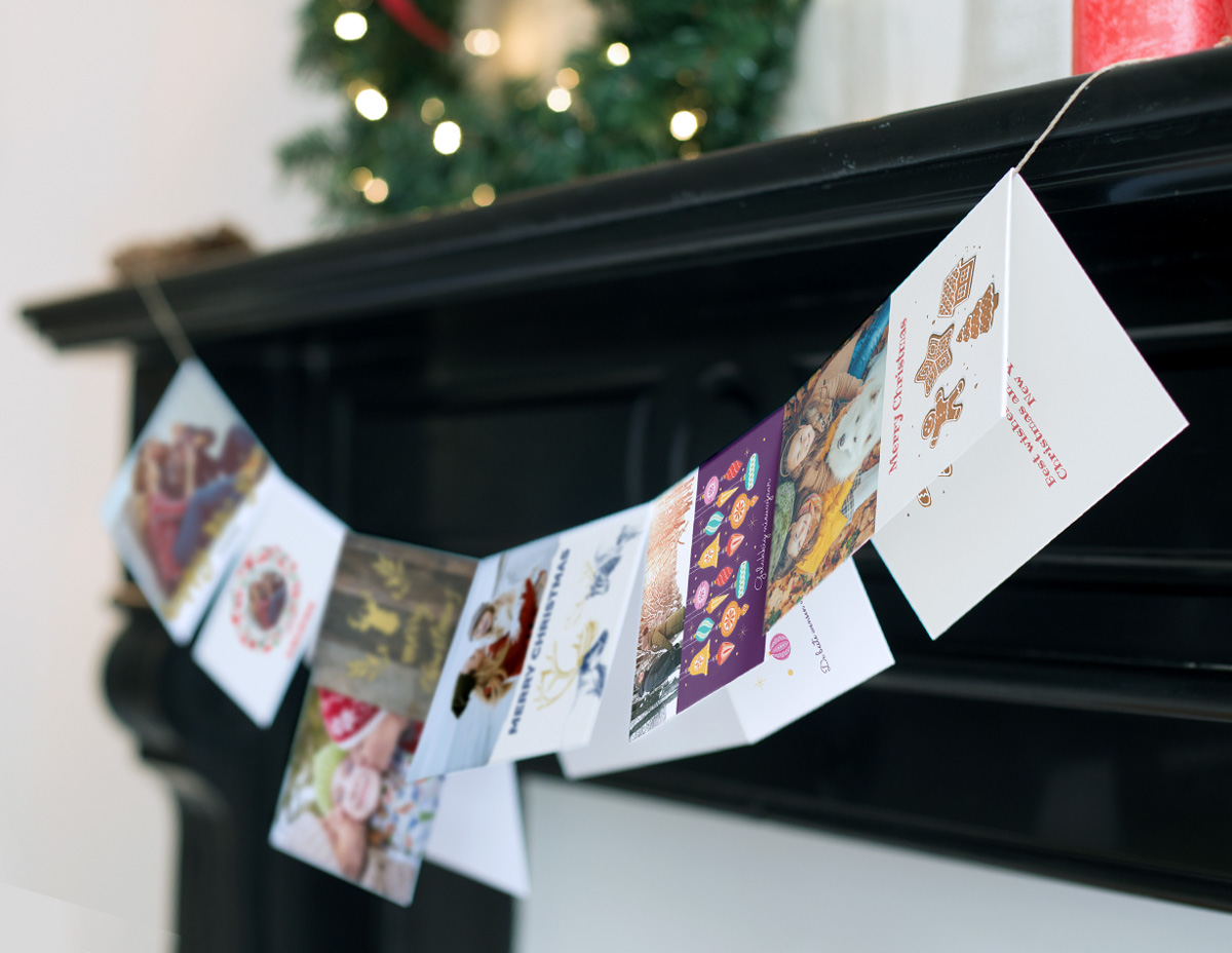 Commissioned christmas set - Client: Albelli - Design, Illustration