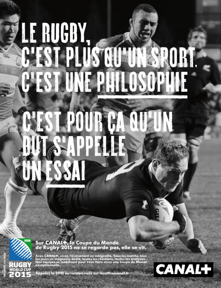 Campagne Canal+ Rugby