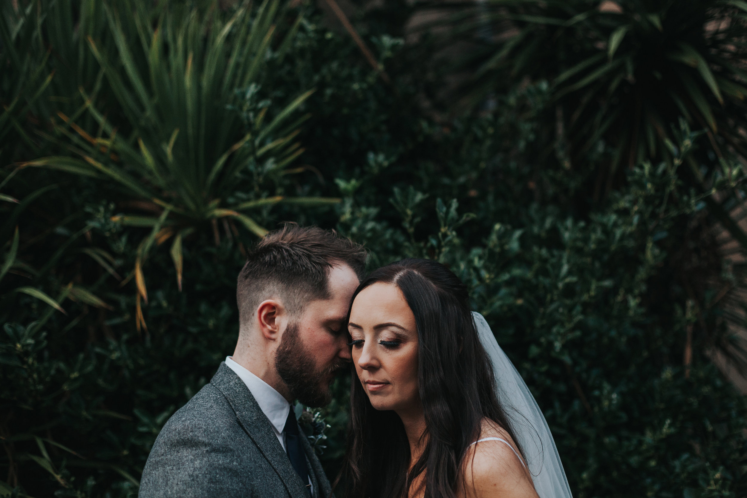 Bride and Groom Jungle photo Liverpool