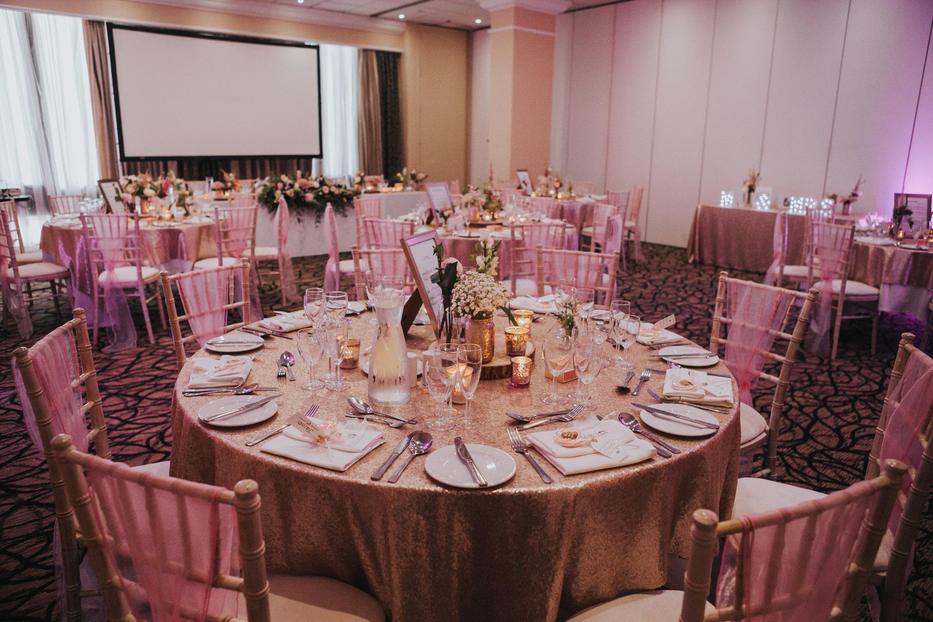 Wedding Breakfast room.