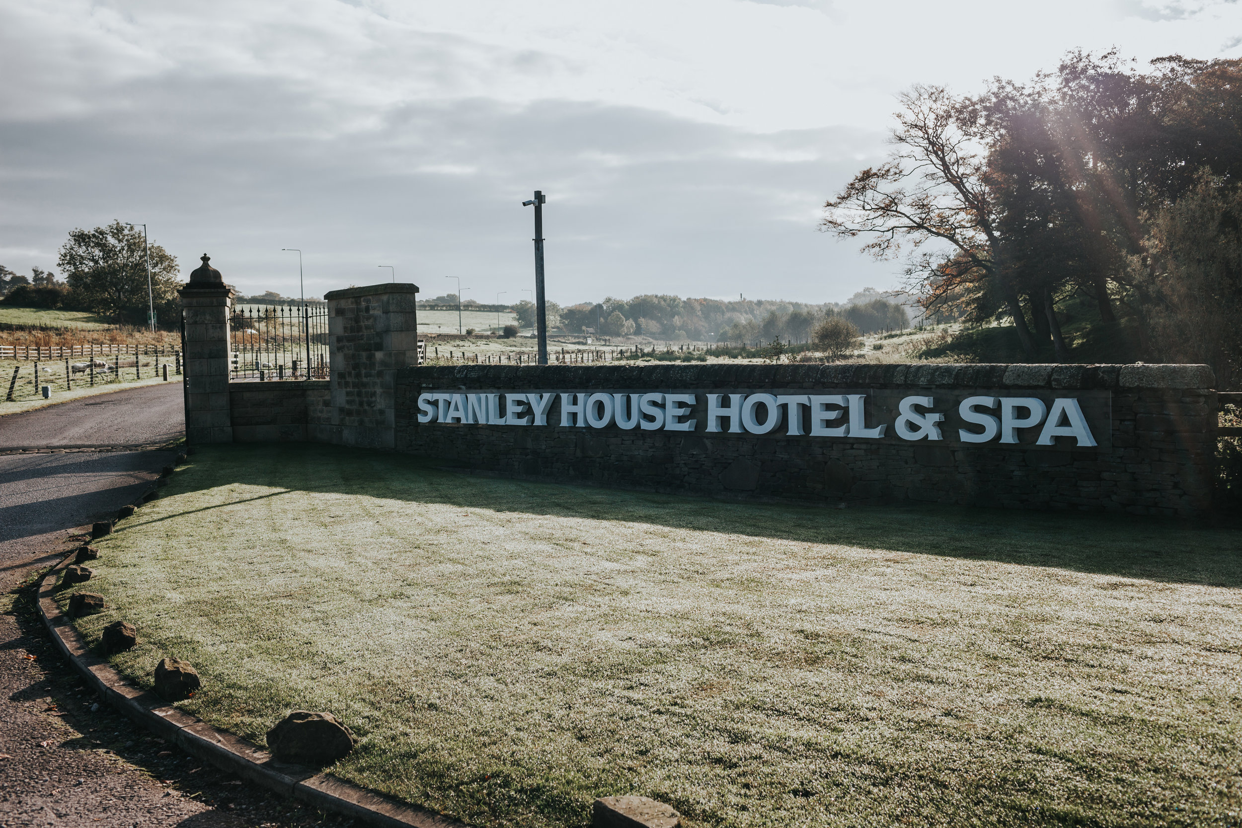 Exterior shot of Stanley Hotel and Spa.