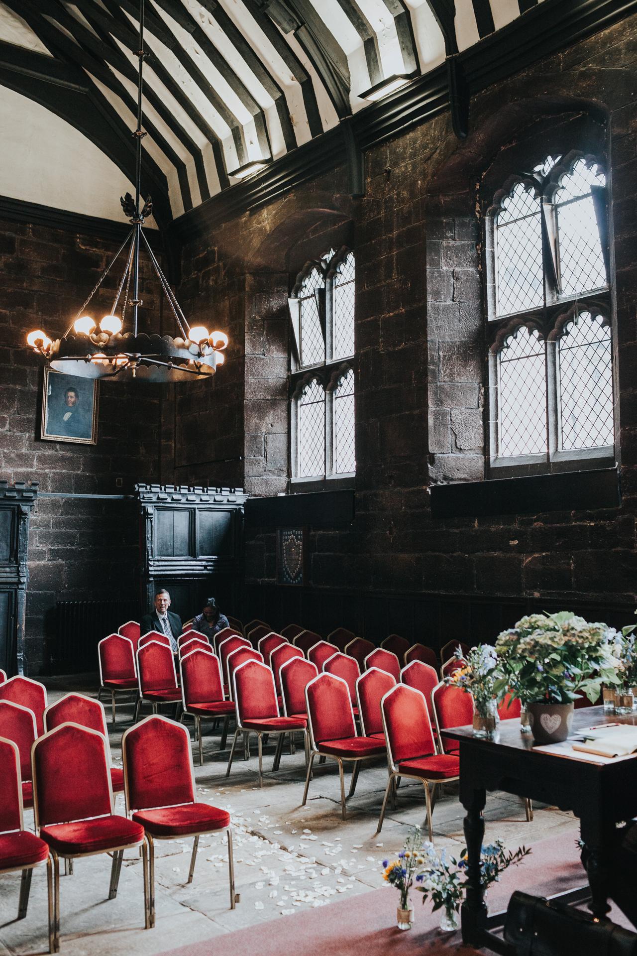 Chetham's Library Wedding Room.