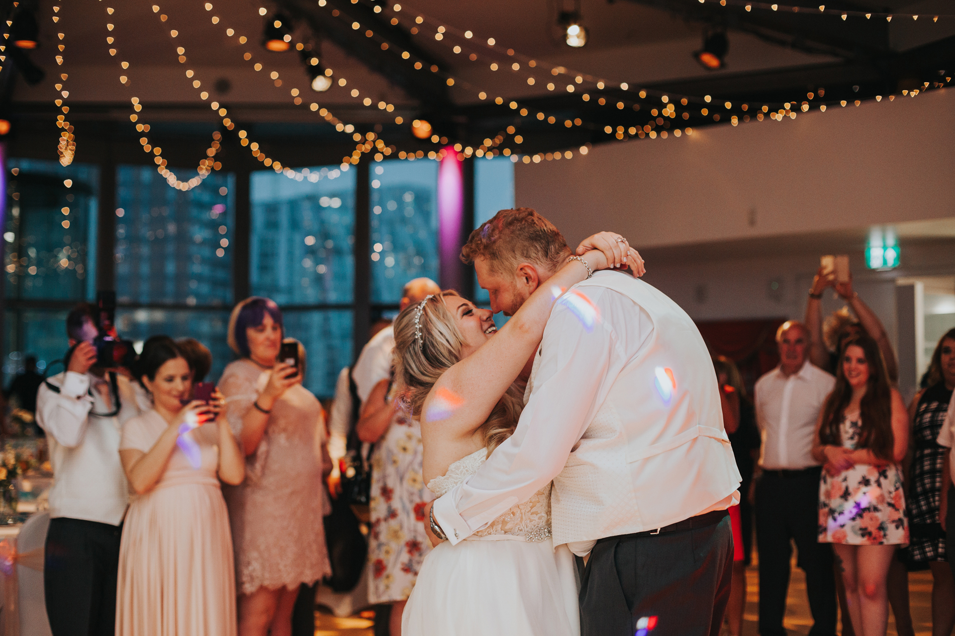 First Dance in The Compass Room, Lowry Theatre