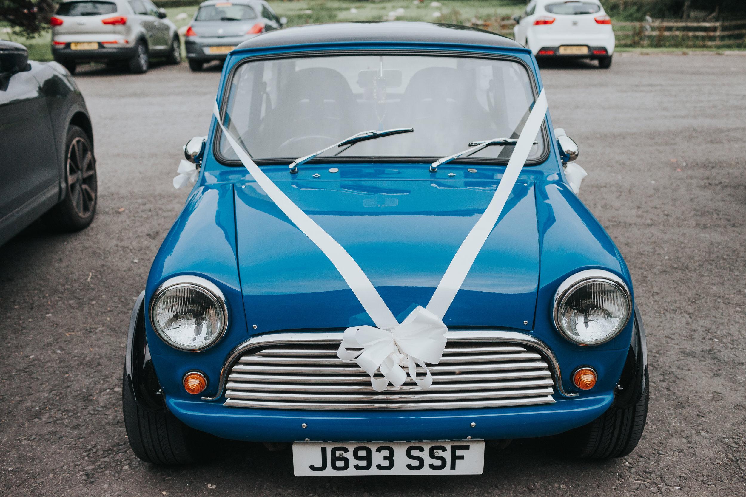 Blue vintage mini.