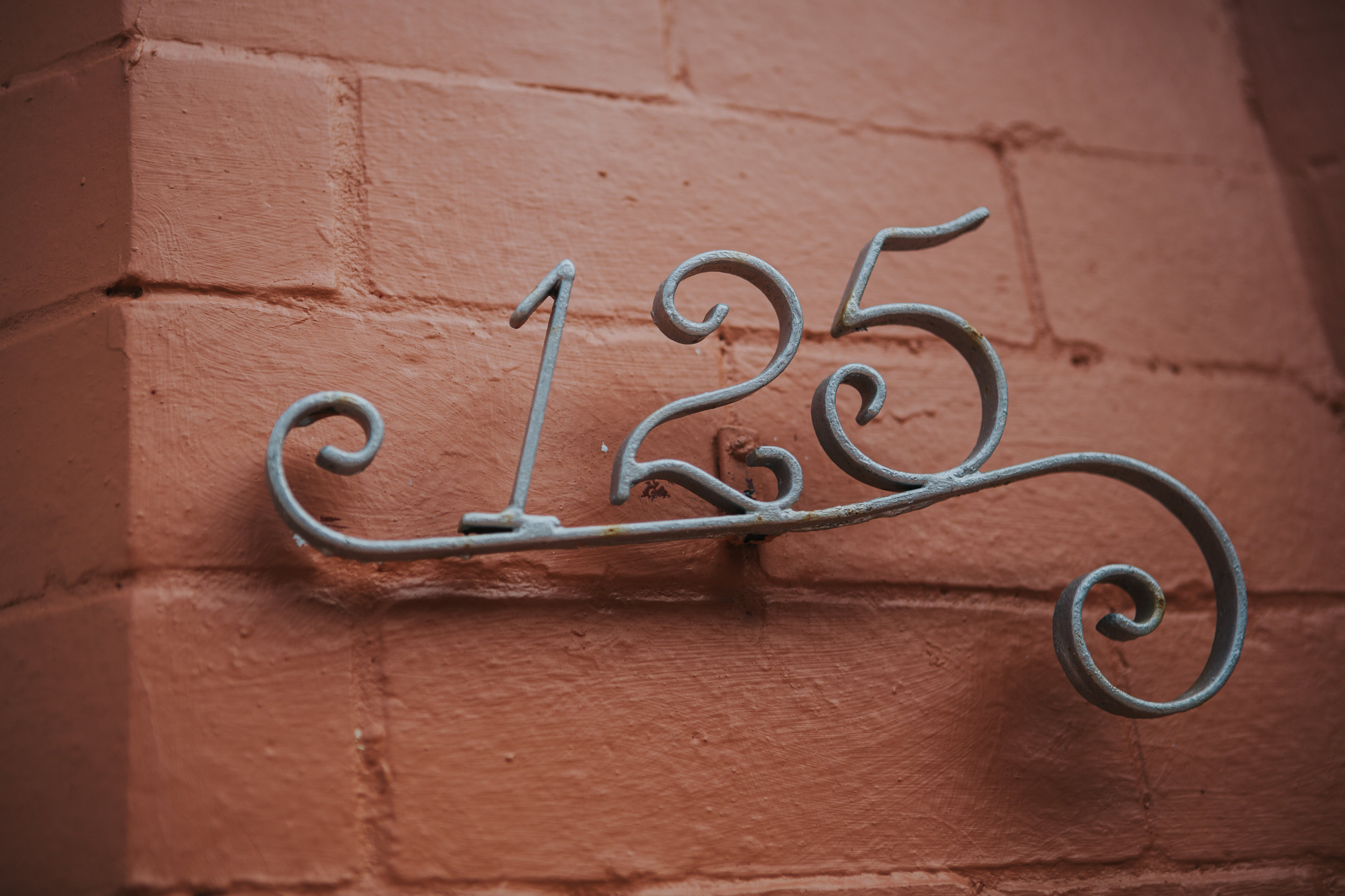 The number 125 of the families house in Liverpool.