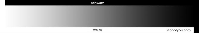Einstellung der Graustufen: regeln Sie die HELLIGKEIT des Bildschirms so, dass links noch so gerade den Übergang zwischen dem weiss der Grafik und dem weiss des Seitenhintergrundes erkennbar ist.