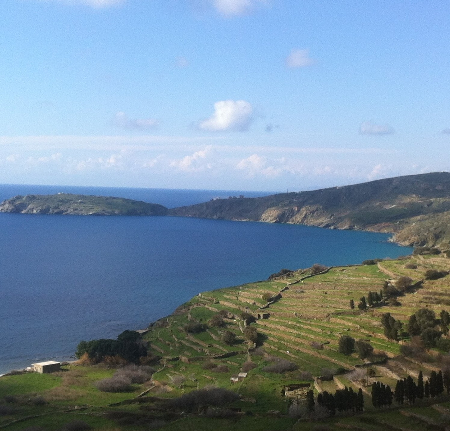 Andros Island. Photo lent to us by: Luea Ritter.
