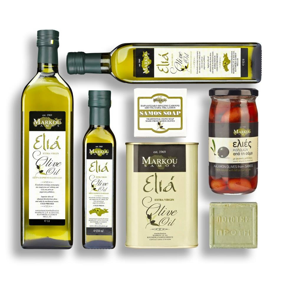 Markou Olive Oil and products  Samos Island