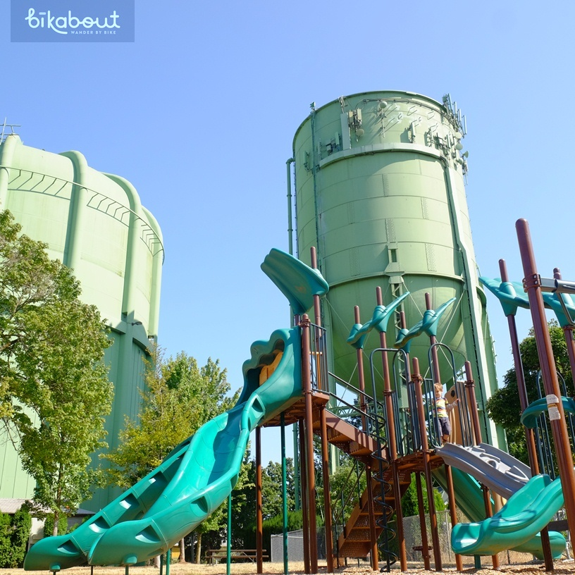 Fun Hydro Park playground in NE off Skidmore